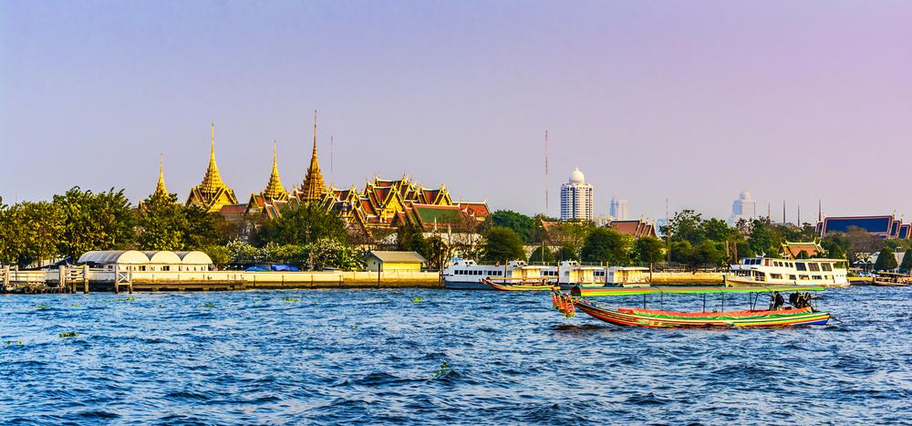 Boat Ride on Chao Praya River